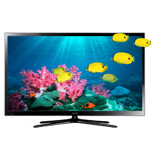"Samsung 60"" 1080p 600Hz 3D Plasma Smart TV (PN60F5500AFXZC)"