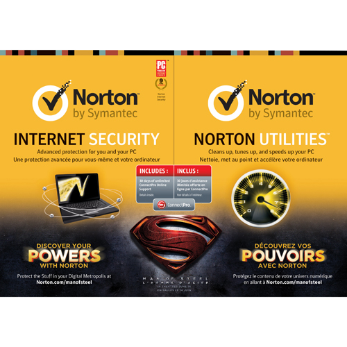 Norton Internet Security 2013/ Norton Utilities 16.0 Man of Stee