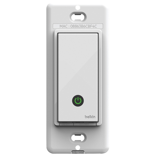 Belkin WeMo Wi-Fi Light Switch (F7C030FC)